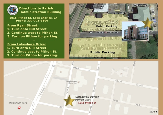 Map to Administration Building