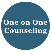Click here for one on one counseling info.