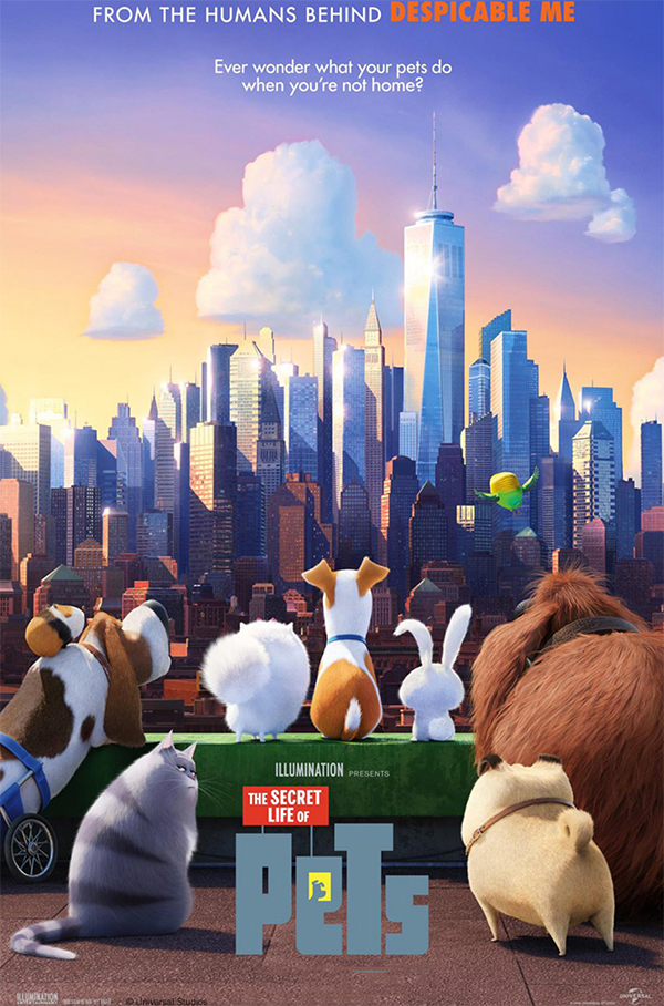 Secret Life of Pets Movie Poster