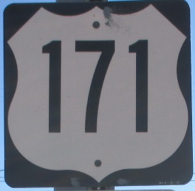US 171 sign