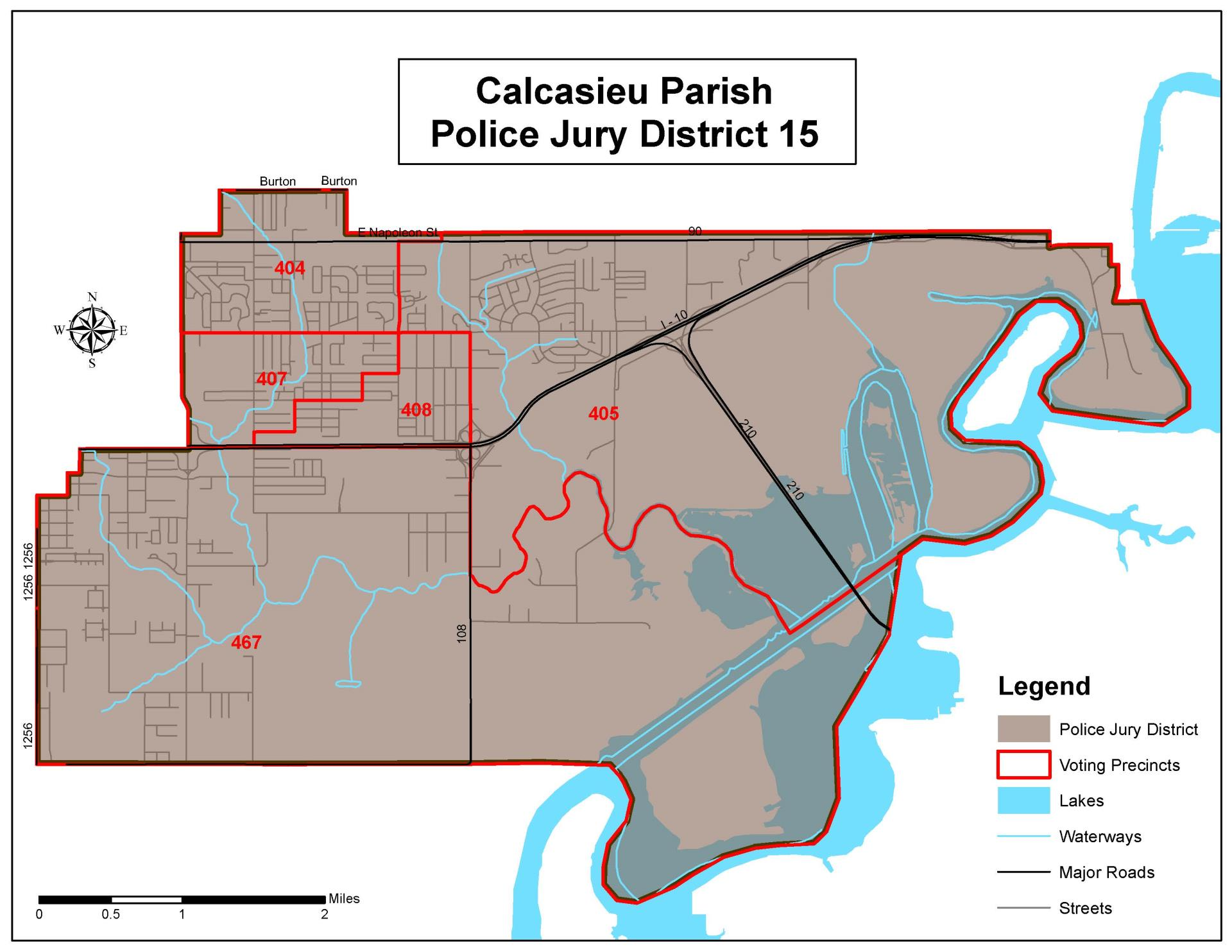 Police Jury - District 15