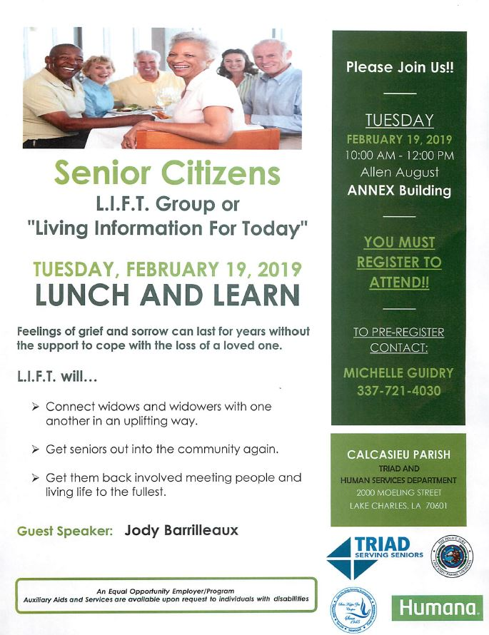 Lunch and Learn February