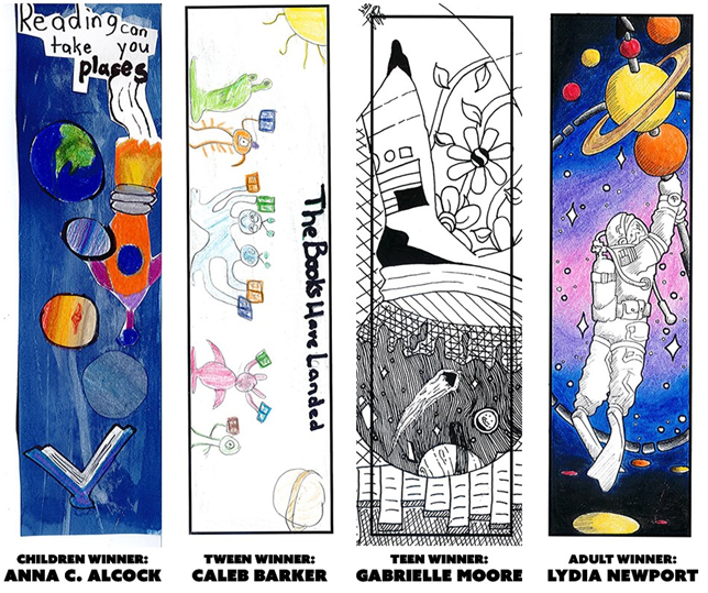 Central Library Bookmark Contest
