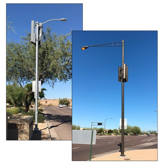 small cell wireless facility examples