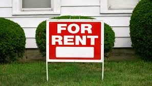 for rent sign generic
