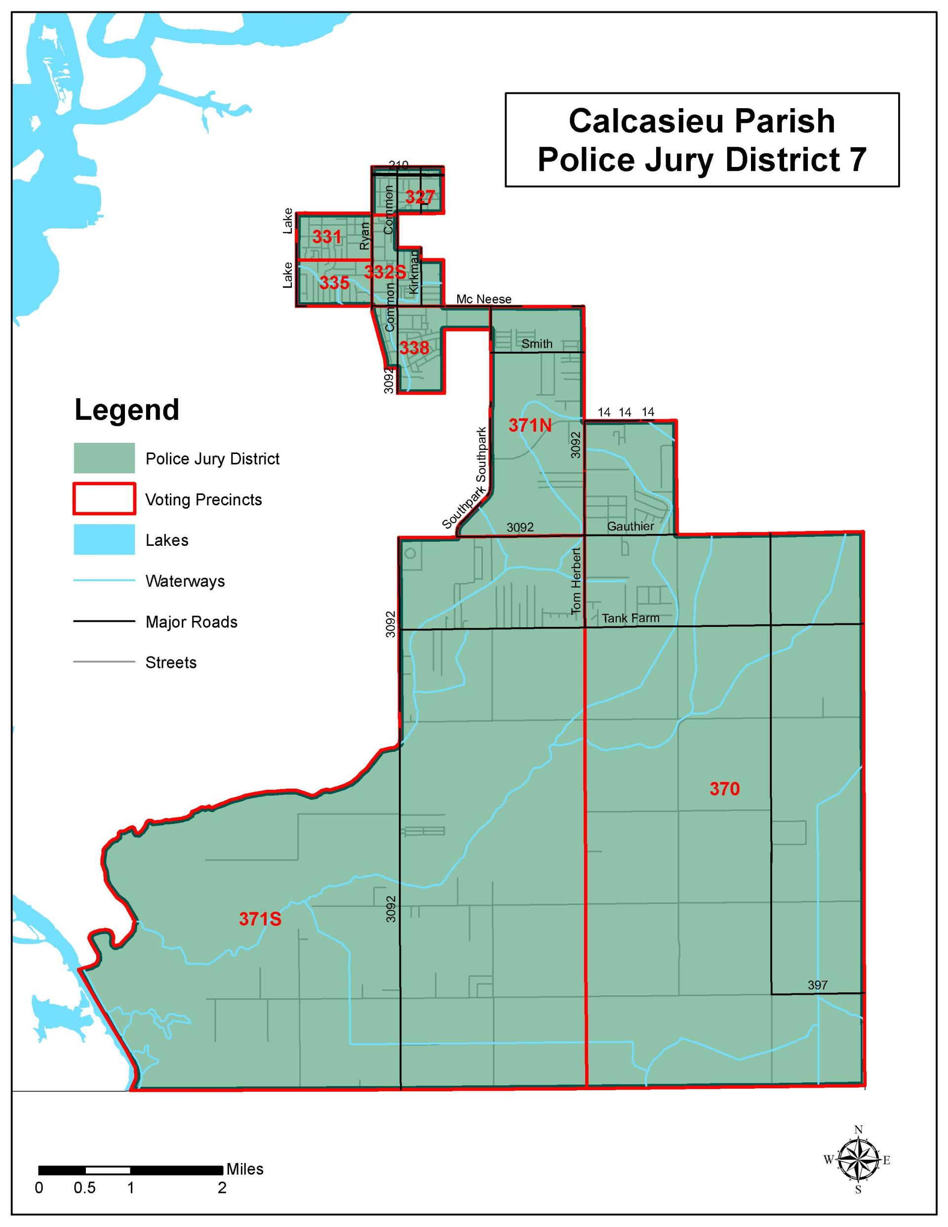 Police Jury - District 7