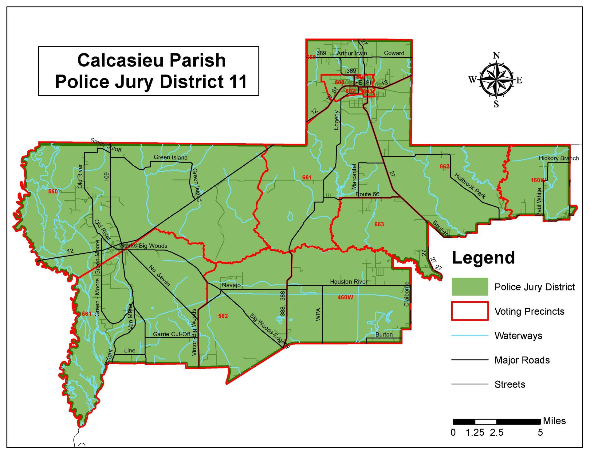 Police Jury - District 11