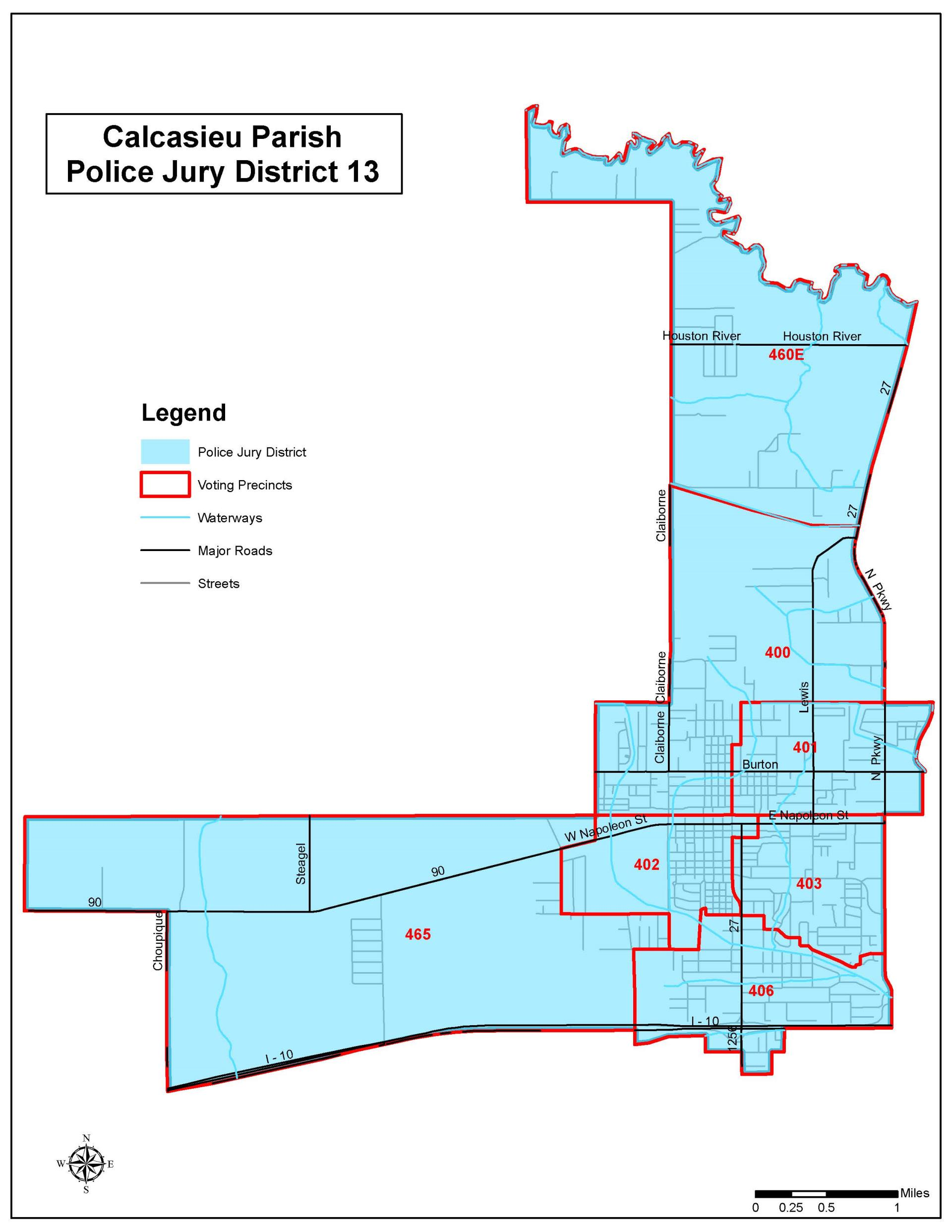 Police Jury - District 13