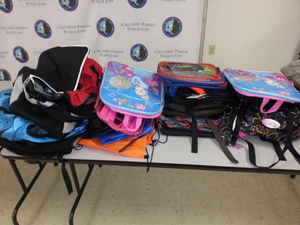 Backpack Table